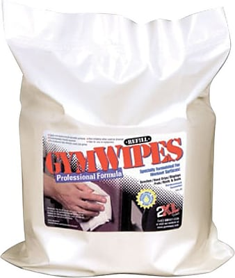 GymWipes® Professional Fitness Wipe Refill, Case of 4