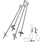 "ShelterLogic 30"" Auger Anchor, 4 Pcs"