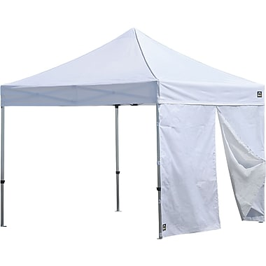 ShelterLogic Alumi-Max 10' Pop-up Canopy Solid One Piece Wall Panel with Center Zipper