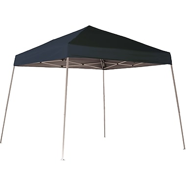 ShelterLogic 10' x 10' Slant Leg Pop-up Canopies with Black Roller Bags