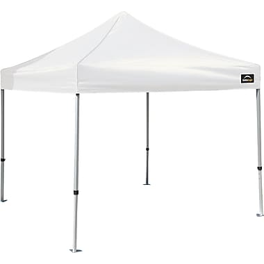 ShelterLogic 10' x 10' Alumi-Max Pop-up Canopy with Roller Bag, White Cover