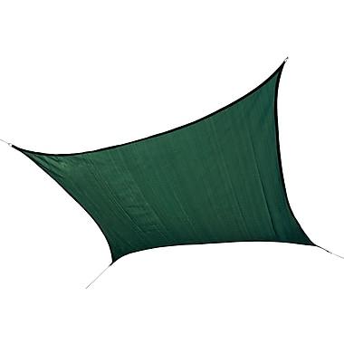 ShelterLogic 12' Square Shade Sail - 230 gsm, Evergreen