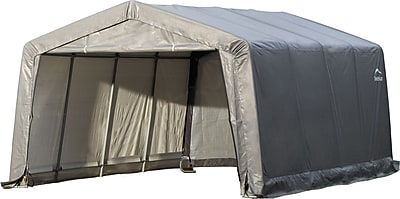 ShelterLogic 12' × 16' × 8' Peak Style Shelter, 1 3/8