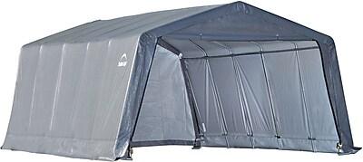 ShelterLogic 12' × 20' × 8' Peak Style Shelter, 1 3/8