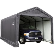 ShelterLogic 12' x 20' x 11' ShelterTube™ Storage Shelter, Gray Cover