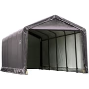 ShelterLogic 12' x 25' x 11' ShelterTube™ Storage Shelter, Gray Cover