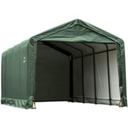 ShelterLogic 12' x 20' x 11' ShelterTube™ Storage Shelter, Green Cover