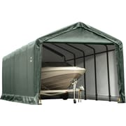 ShelterLogic 12' x 25' x 11' ShelterTube™ Storage Shelter, Green Cover