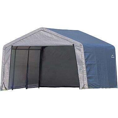 ShelterLogic 12' × 12' × 8' Peak Style Storage Shed, 1 3/8