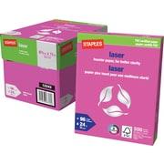 "Staples® FSC-Certified Laser Paper, 8-1/2"" x 11"""