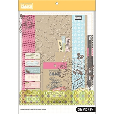 K&Company SMASH Folio Bundle, Pink, 86 pcs