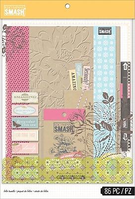 K&Company SMASH Folio Bundle, Pink, 86 pcs