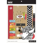 K&Company SMASH Folio Bundle, Red, 86 pcs