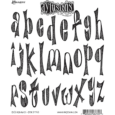 Ranger Dyan Reaveley's Dylusions Cling Stamp Collection, Dy's Alphabet