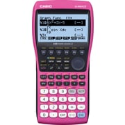 Casio Graphing Calculator, Pink (FX-9860GII)
