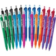Papermate® InkJoy™ 300 Retractable Ballpoint Pen, Medium 1.0mm Tip, Assorted Colours, 24/Pack