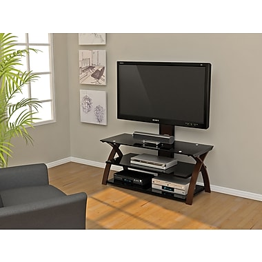 Z-Line Designs Willow 3 in 1 Flat Panel Television Mount System, Black