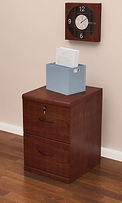 Z-Line 2 Drawer Vertical File, Cherry,Letter/Legal, 18.3''W (ZL2251-2CVU) 49398