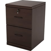 Z-Line Designs 2 -Drawer Wood Vertical File Cabinet; Espresso, Letter and Legal (ZL2252-2EVU)