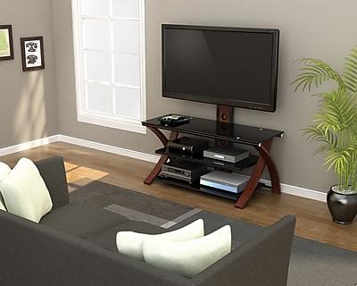 Z-Line Designs Makena 3-in-1 TV Stand, Black