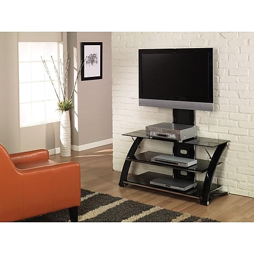 Z Line Designs Vitoria Tv Stand Black Staples