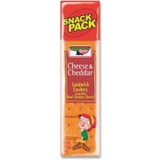 Keebler Cheese and Cheddar Sandwich Crackers, 3 oz packs, 12/Bx