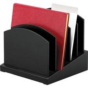 Victor® Wood Desk Accessories Incline File, Midnight Black