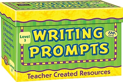 Teacher Created Resources Creative Writing, Prompt Cards, Grade 3