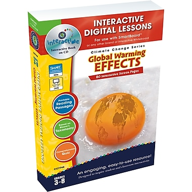 Classroom Complete Press® IWB Global Warming Effects Book, Grades 3rd - 8th