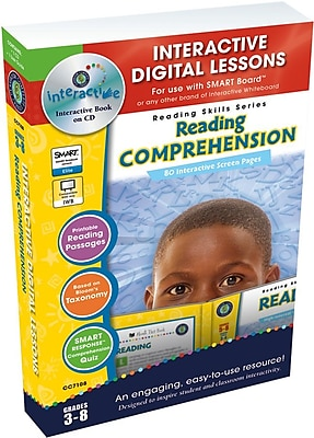 Classroom Complete Press® IWB Reading Comprehension Book, Grades 3rd - 8th