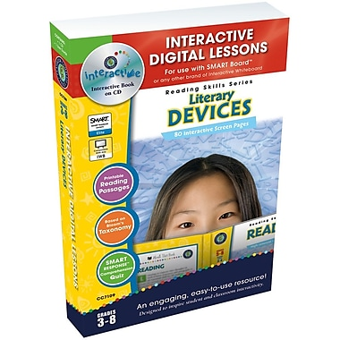 Classroom Complete Press IWB Literacy Devices Book, Grade 3 - 8 (CCP7109)