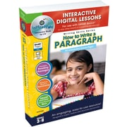 Classroom Complete Press® IWB How to Write a Paragraph Book, Grades 3rd - 8th