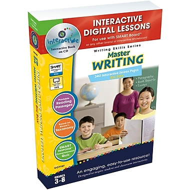 Classroom Complete Press® Iwb Master Writing Big Box Book, Grades 3rd - 8th