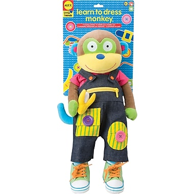 Alex Toys® Learn To Dress Monkey