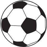 Ashley® Magnetic Whiteboard Eraser, Soccer, Grades All