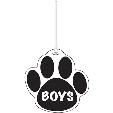Ashley® Boys Paw Hall Pass, Black (ASH10360)
