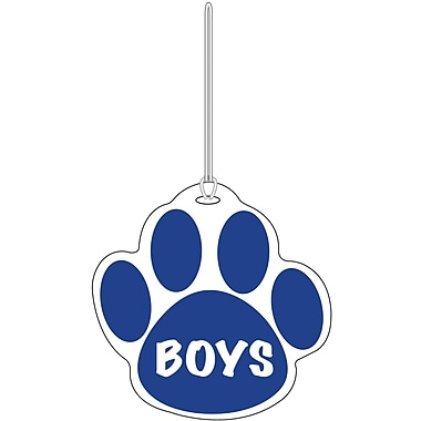 Ashley® Boys Paw Hall Pass, Blue