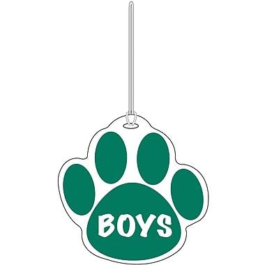 Ashley® Boys Paw Hall Pass, Green