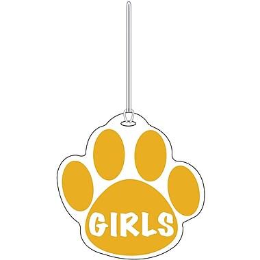 Ashley® Girls Paw Hall Pass, Gold