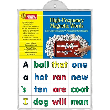 Barker Creek High-Frequency Words Learning Magnets Set (BCP2600)
