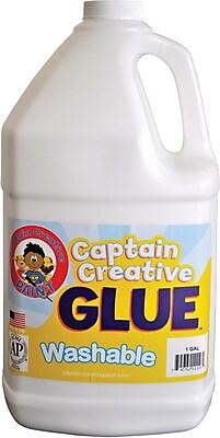 Captain Creative™ Washable Glue, 1 Gal., 2 EA/BD