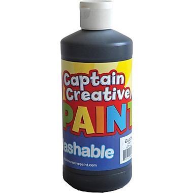 Captain Creative™ 16 oz. Washable Paint, Black