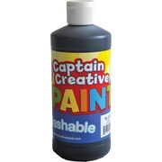 Captain Creative™ 16 oz. Washable Paint, Black