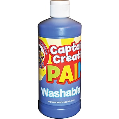Captain Creative™ 16 oz. Washable Paint, Blue