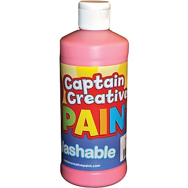 Captain Creative 16 Oz. Washable Paint, Pink