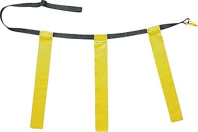 Triple Flag Football Set Yellow, Youth Size, 25