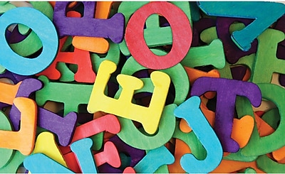 Chenille Craft® Colored Wooden Capital Letters