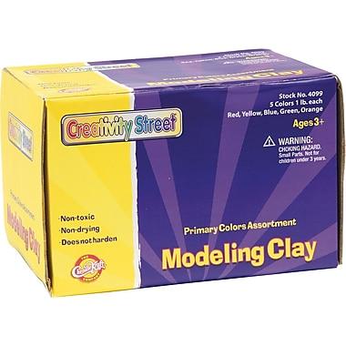 Chenille Kraft® Creativity Street® Assorted Modeling Clay, 5 lbs.