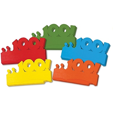 Chenille Kraft My First 100 Days Paper Crowns, 25/Pack (CK-4670)