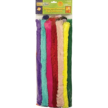 Chenille Kraft Ck-7184 Super Colossal Pipe Cleaners, Assorted